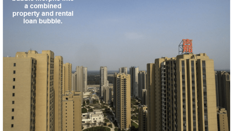 "China's Effort to Rein in Property Bubble Creates ""Rental Loan"" Bubble as Well"