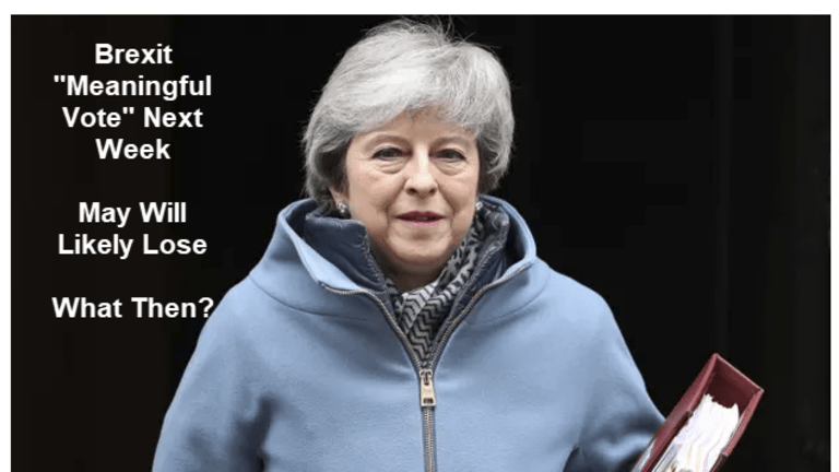 Theresa May Doesn't Have the Votes: Who will Bend? EU, Tories,  Labour or May?