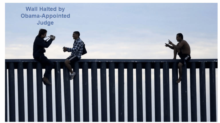 Obama-Appointed Judge Blocks Trump's Wall: What's the Correct Ruling?
