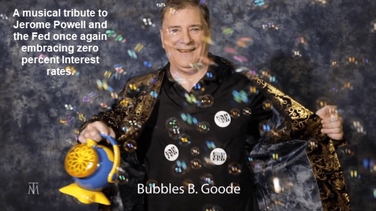 Bubbles B. Goode: Musical Tribute to the Fed