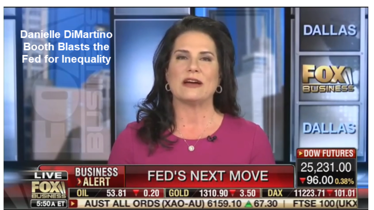 Danielle DiMartino Booth Blasts the Fed for Inequality, Discusses Recessions