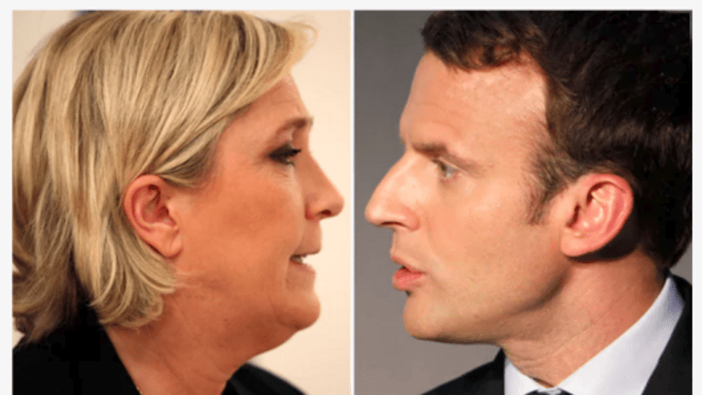 Pollsters Get One Right: Macron and Le Pen Square Off in Round Two as Expected