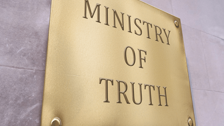 Ministry of Truth Goes After Facebook, Twitter, Google