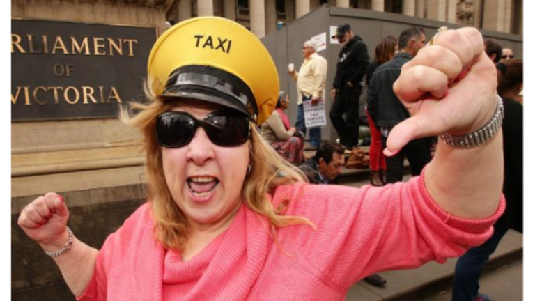 Medallion Bubble Bursts: Taxi Protest Down and a US Price Collapse