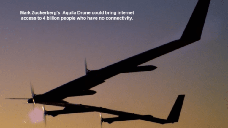 Facebook's Solar Powered Drone has Successful Test Flight: Potential Internet Access to Billions