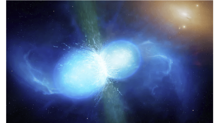 Astronomers Witness Neutron Star Collision: Gold and Heavy Metals Produced