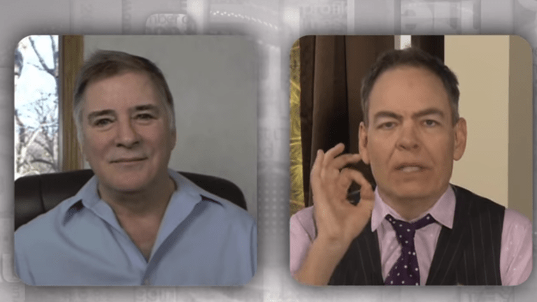 Max Keiser / Mish Video Right Before Volatility Hit