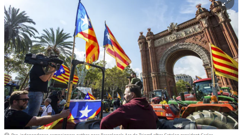 Spain Gives Catalonia a 5-Day Warning: What Really Happened Yesterday? Majority Math Fake News