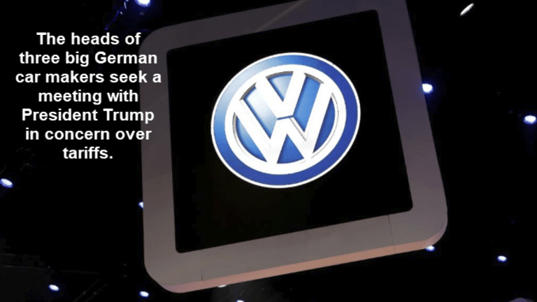 Volkswagen, BMW, and Daimler Seek White House Meeting