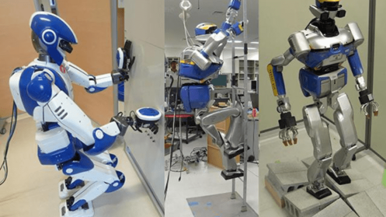 Humanoid Robots to Manufacture Planes