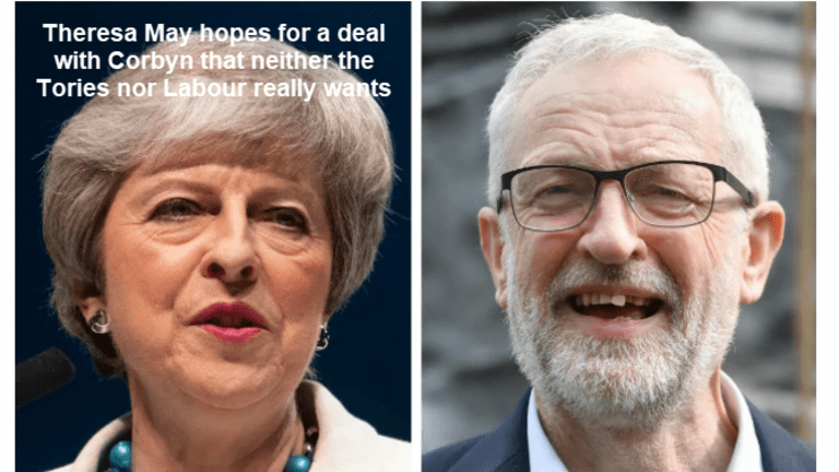 Theresa May to Get Tory Ultimatum: Pick Your Resignation Date or We Will