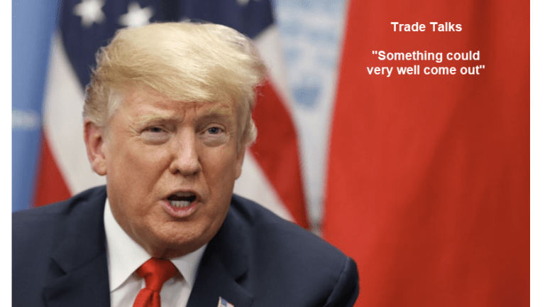 """Trade Talk Optimism: """"Something Could Very Well Come Out"""" - But It Won't!"""