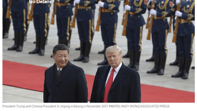 """Trump Hails """"Big Progress"""" on Trade Deal With China"""