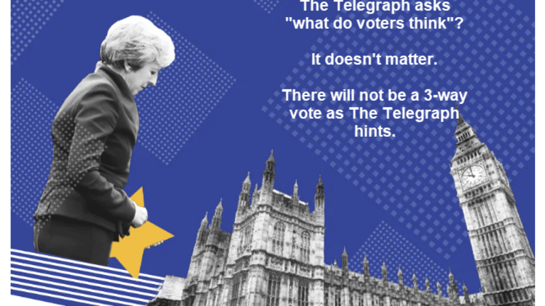 Theresa May's Strategy Backfires: She's Headed for a Disastrous 200-Vote Defeat