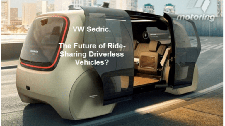 Volkswagen's Bizarre Looking Sedric: The Future of Driverless Shared Rides?