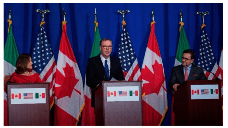 5th Round of NAFTA Talks Collapse: Who's to Blame? What's at Stake?