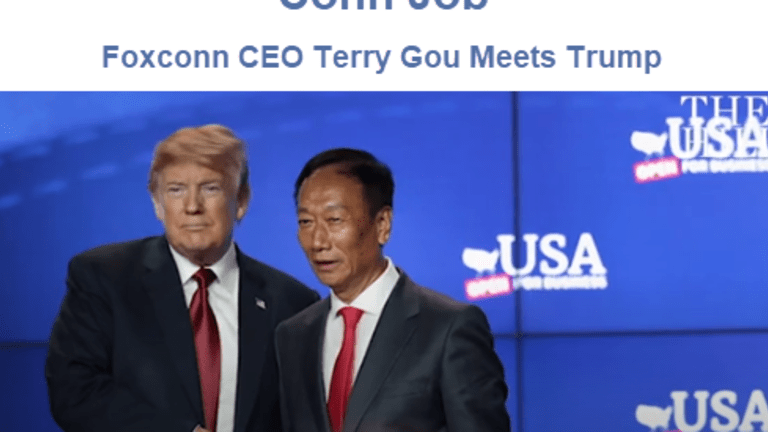 Conn Job: Foxconn Wisconsin Manufacturing Cancellations, US Labor Costs Too High