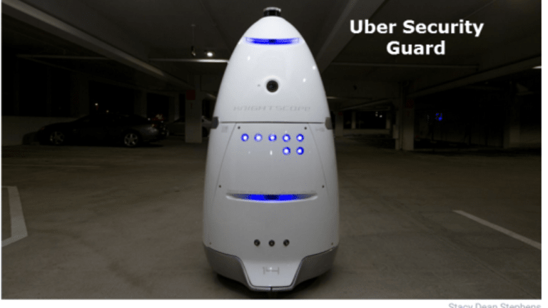 Zume Pizza Robots, Uber's Security Robots, Local Delivery Robots Invade London