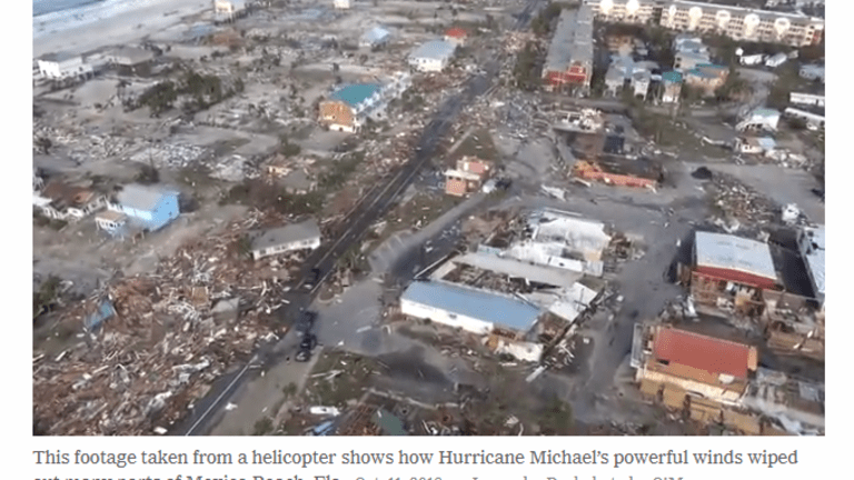 Catastrophic Destruction by Michael, Millions Without Power, Towns Destroyed