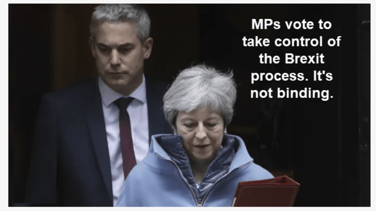 Brexit Groundhog Day # 402 (Or Whatever): MPs Attempt Brexit Process Takeover