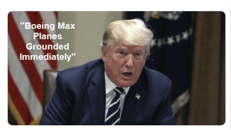 Emergency Order: Trump Grounds Boeing MAX Airplanes