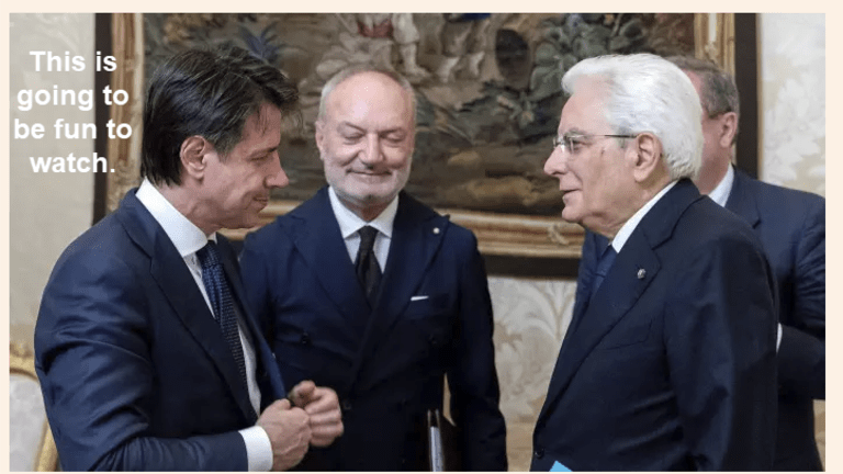 Italy Government Approved: Crisis Over? Hardly! Get Popcorn, Gold