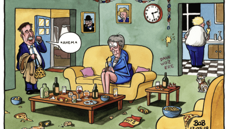 Tearful Theresa May Meets the Men in Grey: The Inside Story