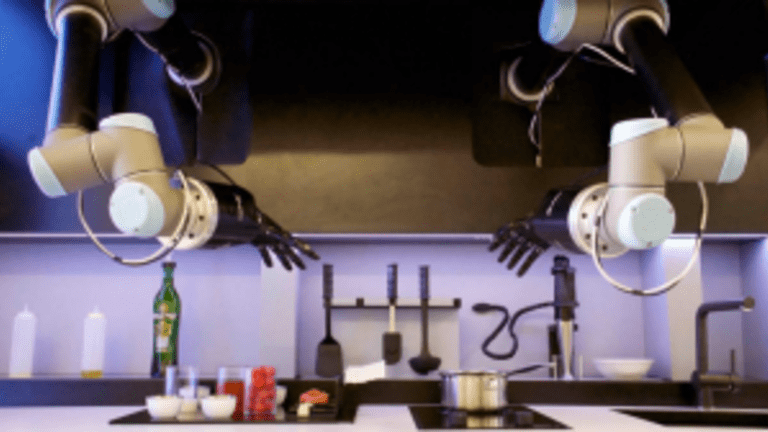 Morley the Robot Master Chef; Cognitive Cooking