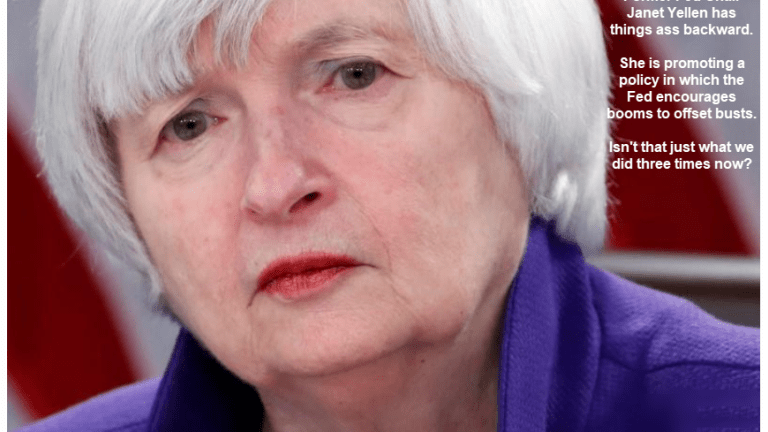 Yellen Wants Fed to Commit to Future Booms to Make Up for Busts