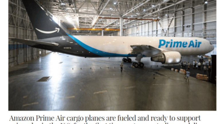 """Amazon Prime Hits 85 Million Subscribers, """"Prime Air"""" Cargo Planes Ready For Takeoff"""