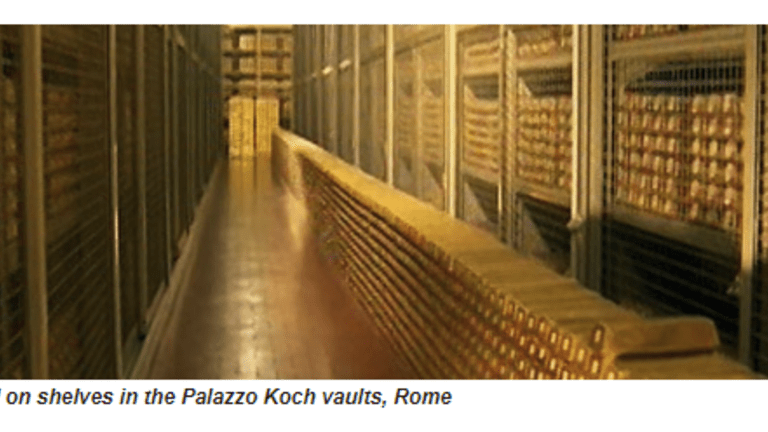 Regarding Italy's Proposed Parallel Currency: What If It Was Backed By Gold?