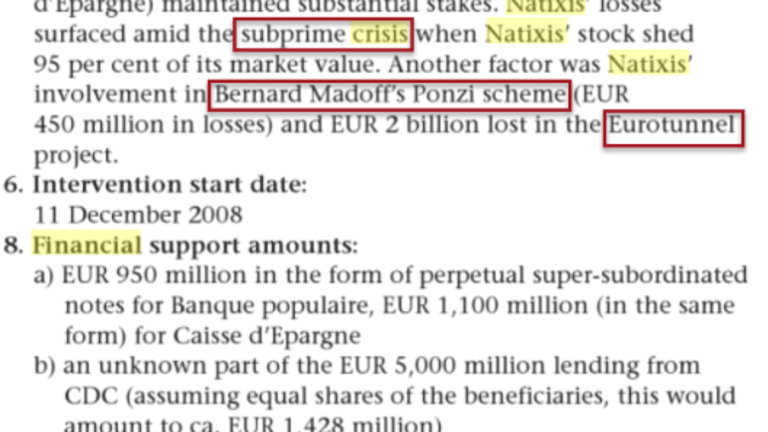 """CEO of 2nd Largest French Bank """"More Worried Than in 2009"""""""