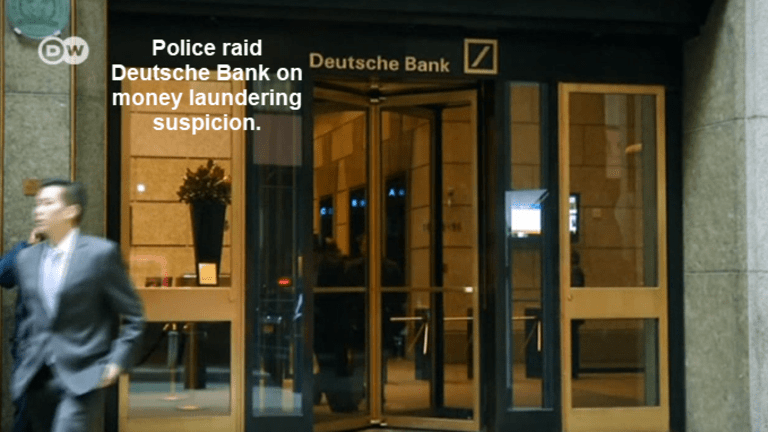 Police Raid Deutsche Bank on Money Laundering Charges