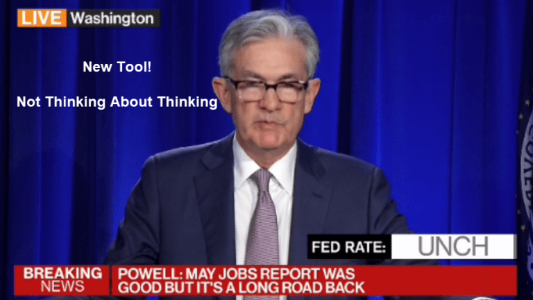 Fed's New Tool: Not Thinking About Thinking