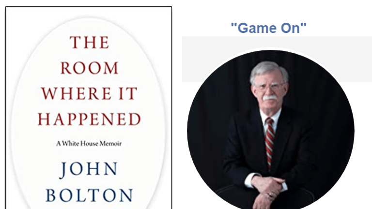 In a New Book, Bolton Accuses Trump of Misconduct