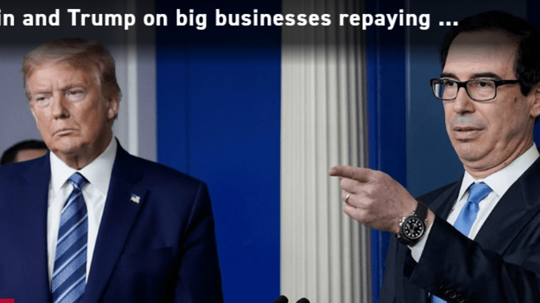 Why Does Trump Want to Hide Who Took Small Business Loans?