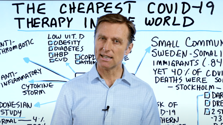 The Cheapest Covid-19 Therapy in the World (That Big Pharma Doesn't Want)