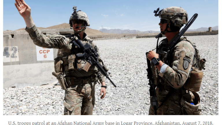 Biden Has a No-Win Position in Afghanistan No Matter What He does