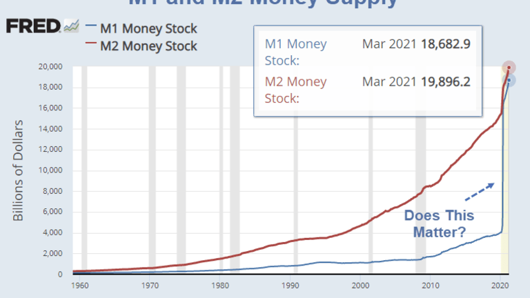 """The Fed Says """"Money Doesn't Affect Inflation"""" Others Say """"It's the Money Stupid"""""""