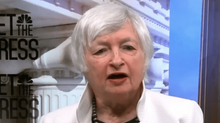 Yellen Discusses Inflation Tools As If She Was Still the Fed Chair