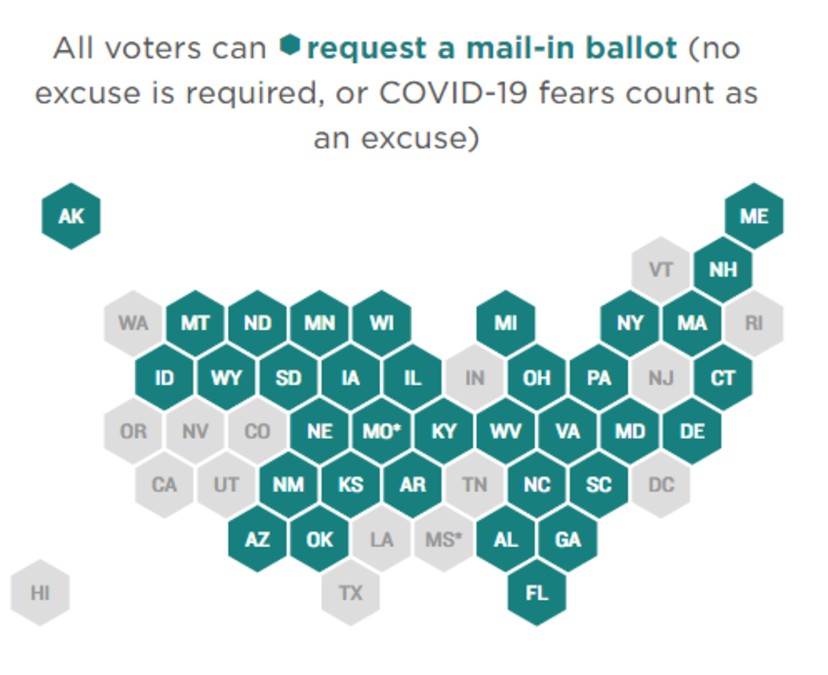 All Voters Can Request a Mail-in Ballot