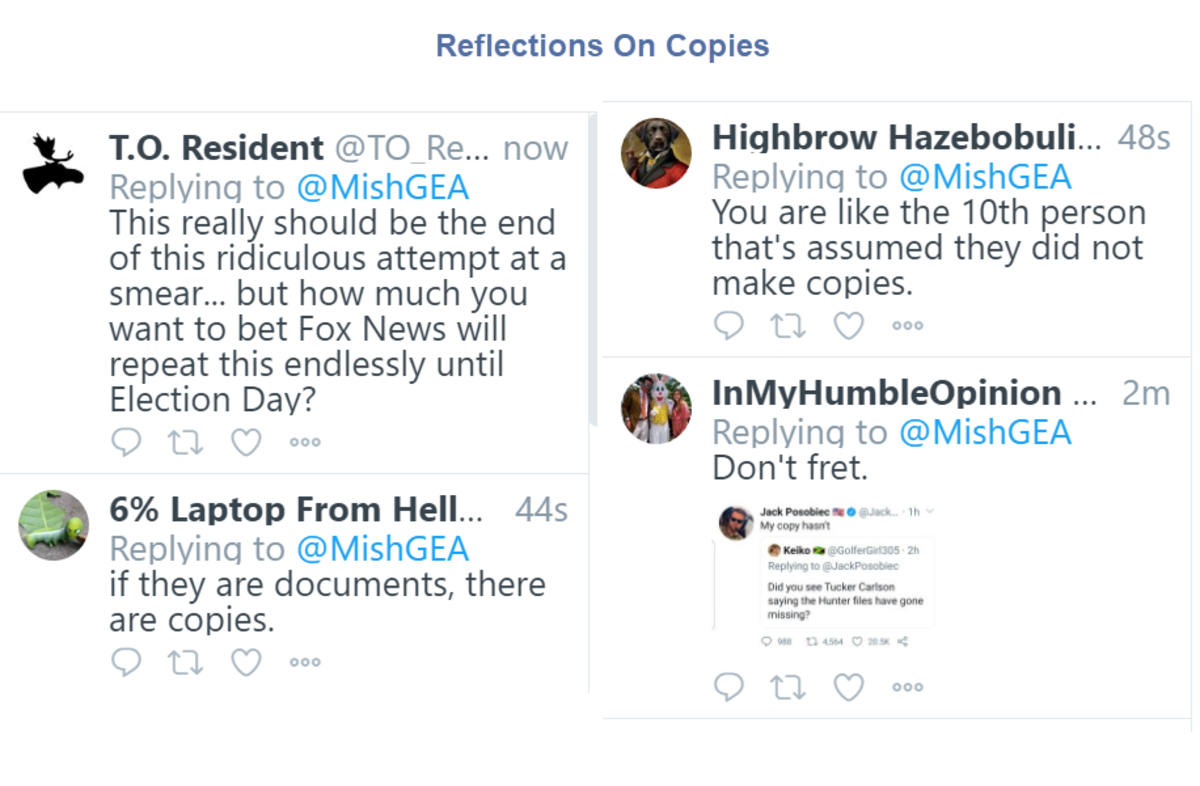 Reflections On Copies