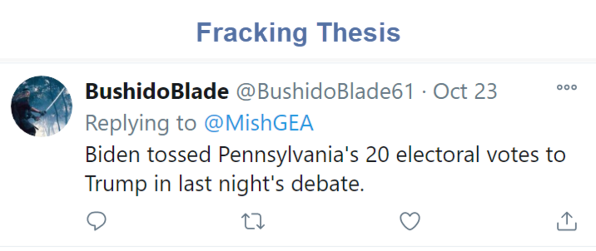 Fracking Thesis