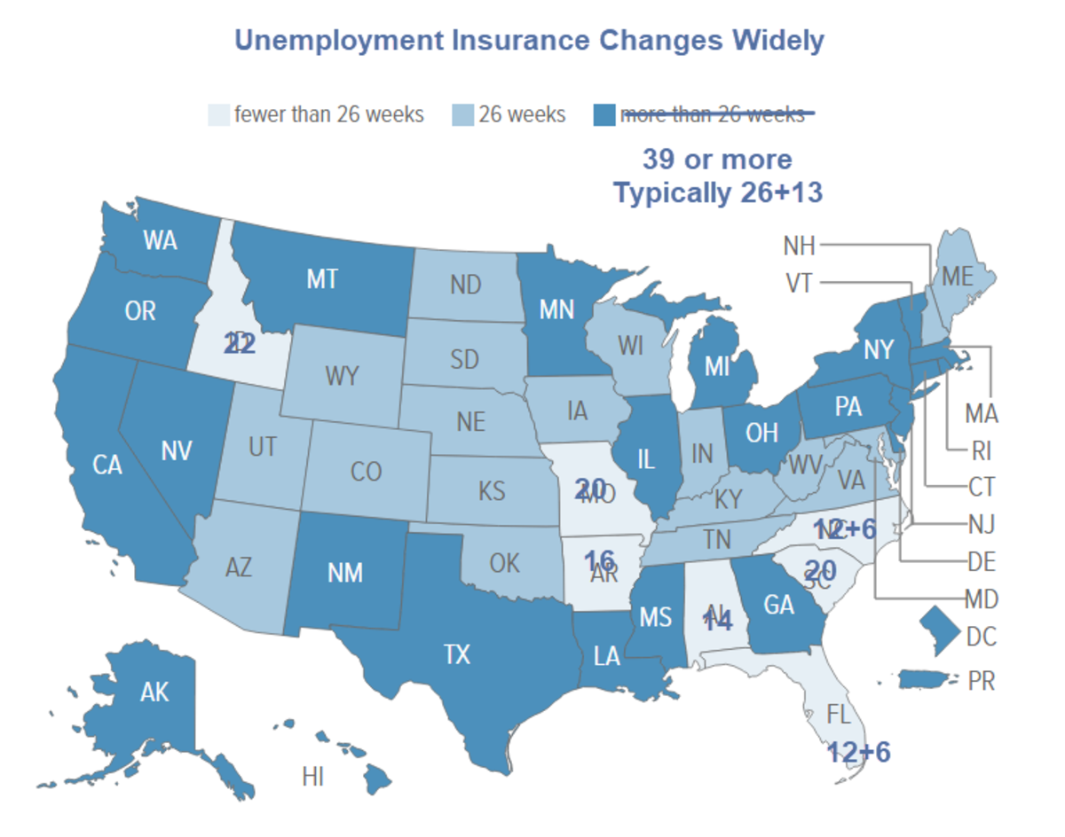 Unemployment Insurance Changes Widely 2020-12-10