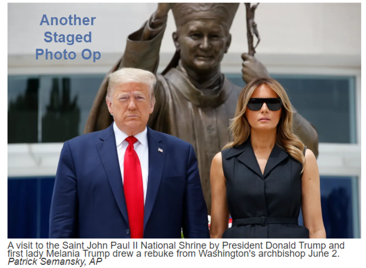 Another Staged Photo Op
