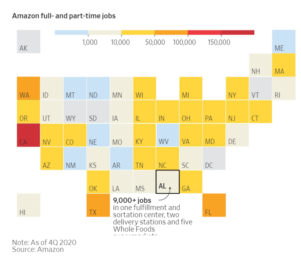 Amazon Full- and Part-Time Jobs