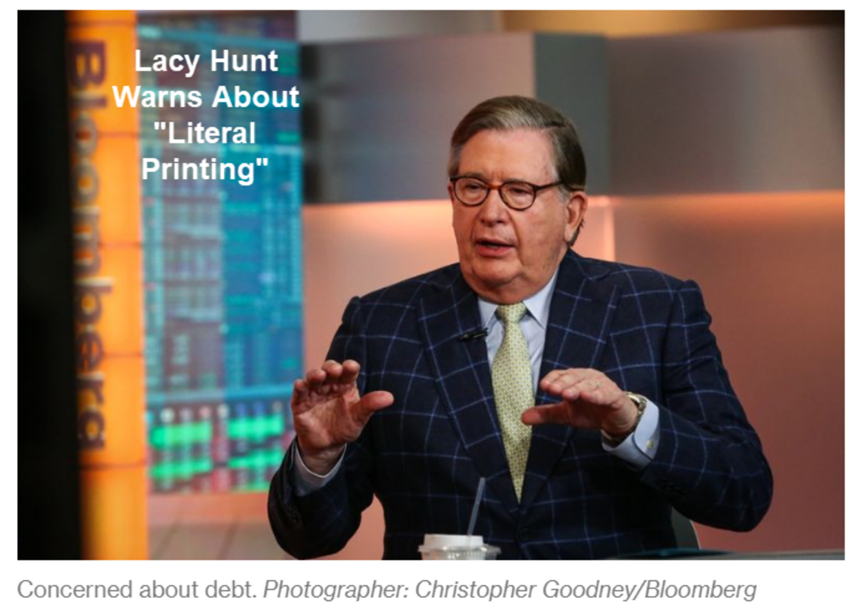 Lacy Hunt Warns About Literal Printing