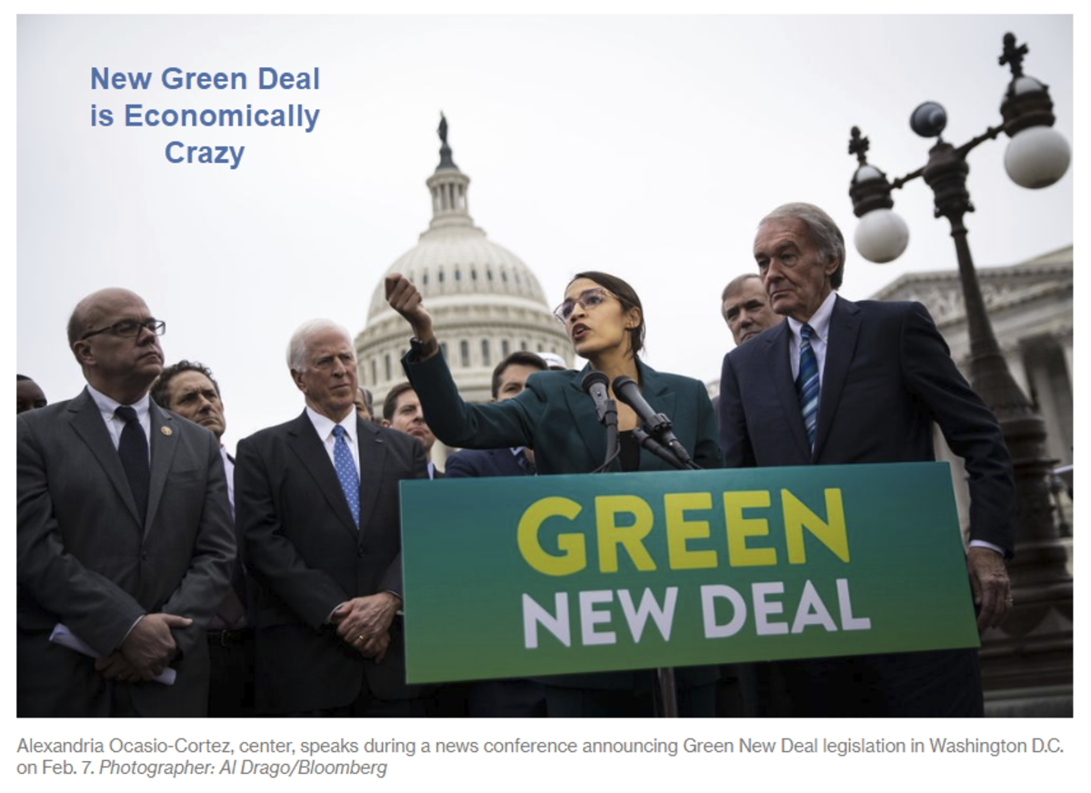 New Green Deal is Economically Crazy