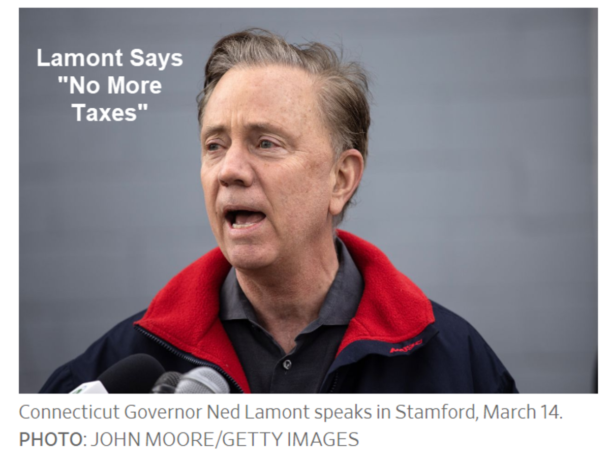 Lamont Says No More Taxes