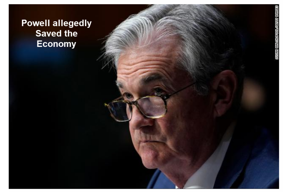 Powell allegedly Saved the Economy
